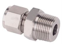 Stainless steel BSP Male Connector Fitting Manufacturer in India