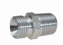 Stainless Steel BSPP Male Connector Fitting Manufacturer in India