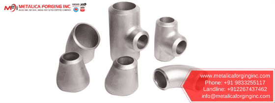 Monel 400 Buttweld Fittings manufacturer india